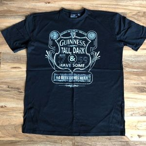 Guinness Mens's XL SS Graphic Tee